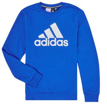 Ruhák Fiú Pulóverek adidas Performance JB MH CREW Kék