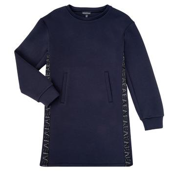 Ruhák Lány Rövid ruhák Emporio Armani 6H3A07-1JDSZ-0920 Tengerész