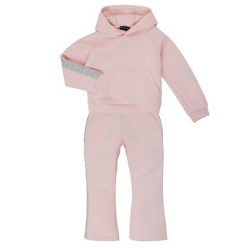 Ruhák Lány Melegítő együttesek Emporio Armani 6H3V01-1JDSZ-0356 Rózsaszín