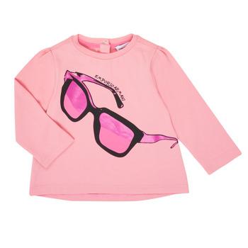 Ruhák Lány Hosszú ujjú pólók Emporio Armani 6HET02-3J2IZ-0315 Rózsaszín