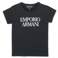 Ruhák Lány Rövid ujjú pólók Emporio Armani 8N3T03-3J08Z-0999 Fekete