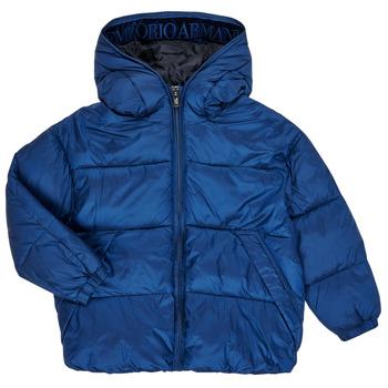 Ruhák Fiú Steppelt kabátok Emporio Armani 6H4BF9-1NLYZ-0975 Tengerész