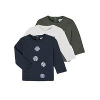 Ruhák Fiú Hosszú ujjú pólók Emporio Armani 6HHD21-4J09Z-0564 Sokszínű
