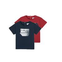 Ruhák Fiú Rövid ujjú pólók Emporio Armani 6HHD22-4J09Z-0353 Sokszínű