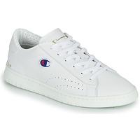 Cipők Női Rövid szárú edzőcipők Champion COURT CLUB PATCH Fehér / Bézs