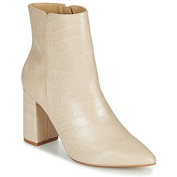Cipők Női Bokacsizmák Ravel SORIANO Bézs