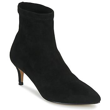 Cipők Női Bokacsizmák Ravel MADRUGA Fekete