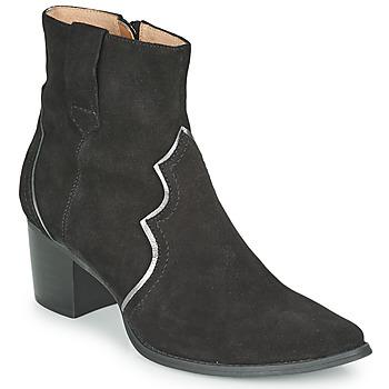 Cipők Női Bokacsizmák Karston APLAX Fekete