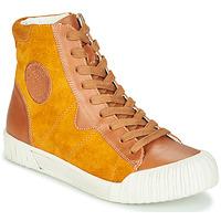 Cipők Női Magas szárú edzőcipők Karston OMSTAR Okker-cserszínű