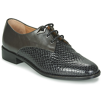 Cipők Női Oxford cipők Karston VENDREDI Fekete