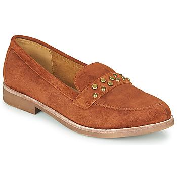 Cipők Női Mokkaszínek Karston ACALI Okker-cserszínű