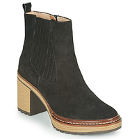 Cipők Női Bokacsizmák Karston GRANI Fekete