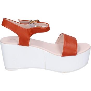 Cipők Női Szandálok / Saruk Solo Soprani BN770 narancs