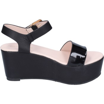 Cipők Női Szandálok / Saruk Solo Soprani BN772 Fekete