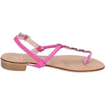 Cipők Női Szandálok / Saruk Solo Soprani BN775 Rózsa