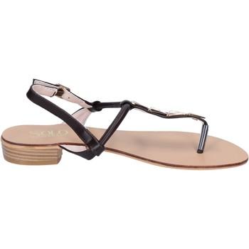 Cipők Női Szandálok / Saruk Solo Soprani BN776 Barna