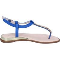 Cipők Női Szandálok / Saruk Solo Soprani BN778 Kék