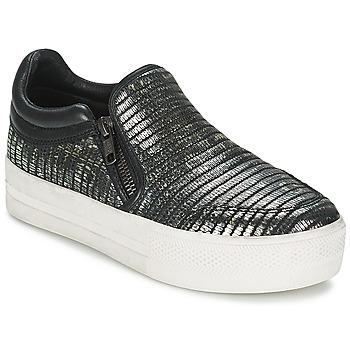 Cipők Női Belebújós cipők Ash JORDY Szürke / Fémes