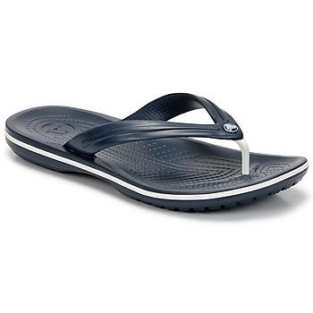 Cipők Lábujjközös papucsok Crocs CROCBAND FLIP Tengerész