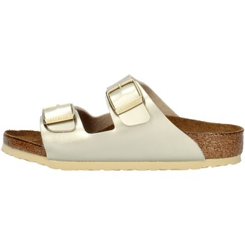 Cipők Lány Papucsok Birkenstock 1014841 Platinum