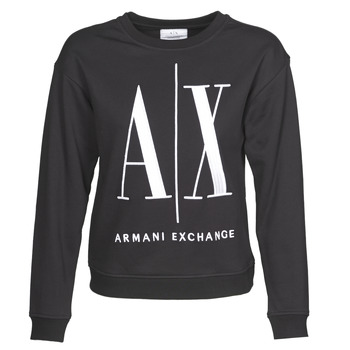 Ruhák Női Pulóverek Armani Exchange 8NYM02 Fekete