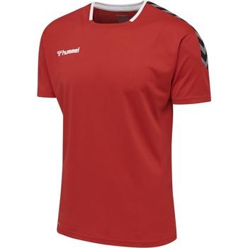 Ruhák Rövid ujjú pólók Hummel Maillot  Authentic Poly HML rouge