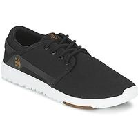 Cipők Férfi Rövid szárú edzőcipők Etnies SCOUT Fekete  / Fehér