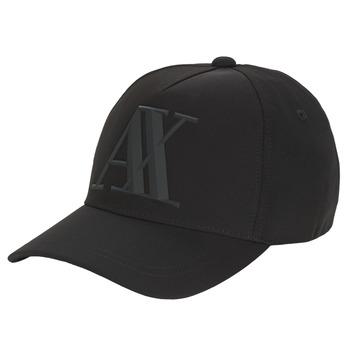 Textil kiegészítők Férfi Baseball sapkák Armani Exchange 954079-CC518-00020 Fekete