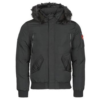 Ruhák Férfi Parka kabátok Deeluxe SHARK Fekete