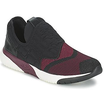 Shoes Női Rövid szárú edzőcipők Ash SODA Fekete  / Bordó