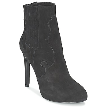 Cipők Női Bokacsizmák Ash BOO Fekete