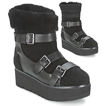 Cipők Női Csizmák Ash ZAZIE Fekete