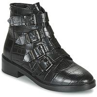 Cipők Női Csizmák Pepe jeans MALDON IMAN Fekete
