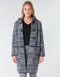 Ruhák Női Kabátok Derhy SAISON Szürke / Fekete
