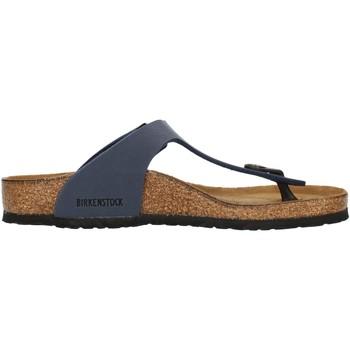 Cipők Gyerek Lábujjközös papucsok Birkenstock 0345443 Blue