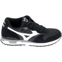 Cipők Rövid szárú edzőcipők Mizuno Genova Noir Fekete