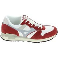 Cipők Divat edzőcipők Mizuno Genova Blanc Rouge Fehér