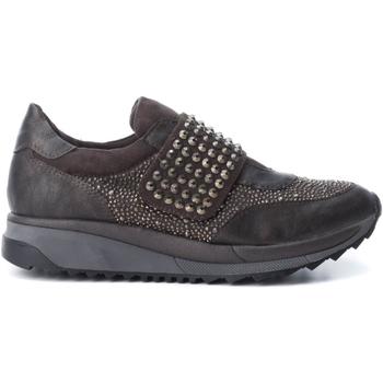 Cipők Női Belebújós cipők Xti 47416 COMBINADA GRIS Gris