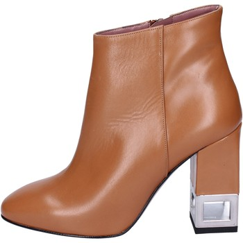 Cipők Női Bokacsizmák Albano BN981 Barna