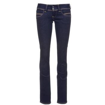 Ruhák Női Egyenes szárú farmerek Pepe jeans VENUS Kék / M15