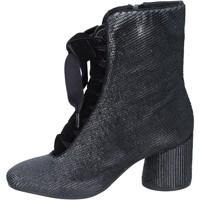 Cipők Női Bokacsizmák Elvio Zanon BM12 Fekete