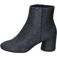 Cipők Női Bokacsizmák Elvio Zanon BM13 Fekete
