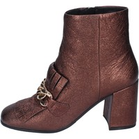 Cipők Női Bokacsizmák Elvio Zanon BM15 Barna