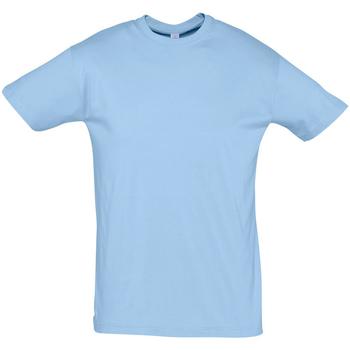 Ruhák Férfi Rövid ujjú pólók Sols REGENT COLORS MEN Azul
