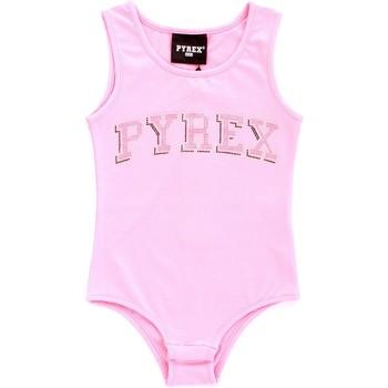 Ruhák Lány Trikók / Ujjatlan pólók Pyrex 024858 Rosa