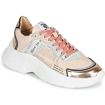 Cipők Női Rövid szárú edzőcipők John Galliano 3645 Rózsaszín