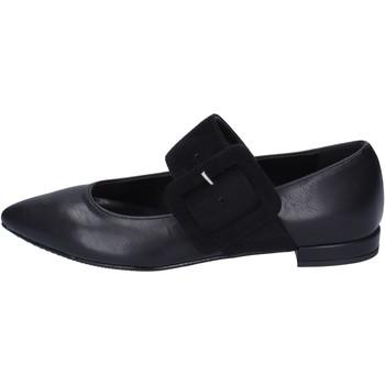 Cipők Női Balerina cipők  Olga Rubini balerina cipő BM61 Fekete
