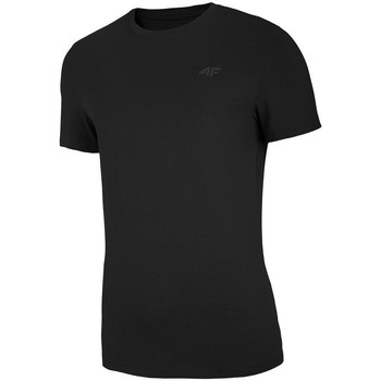 Ruhák Férfi Rövid ujjú pólók 4F TSM003 Fekete