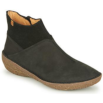 Cipők Női Csizmák El Naturalista BORAGO Fekete