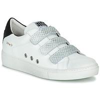Cipők Női Rövid szárú edzőcipők Semerdjian VIP Fehér / Ezüst